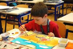 2015 Malování ve třídě